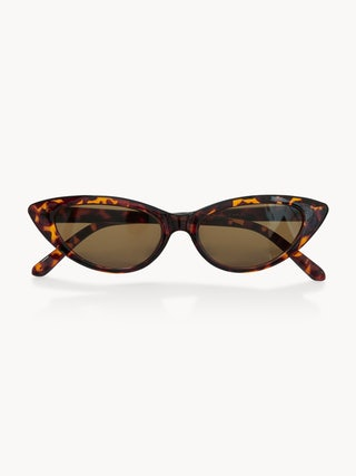 d8b94a6d5a84c Classic Cat Eye Sunglasses - Brown - Pomelo Fashion