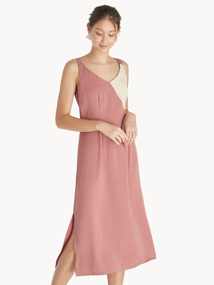 849df706c8b7b Casual Dress With Slits On Both Sides - raveitsafe