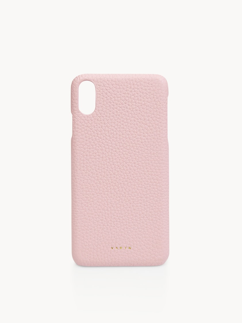 brand new e5b38 40d7d Varyn Leather iPhone X/XS Case - Light Pink - Pomelo Fashion