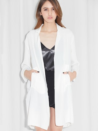 d5d5f65171a Hover to Zoom. Distressed Hem Kimono Jacket