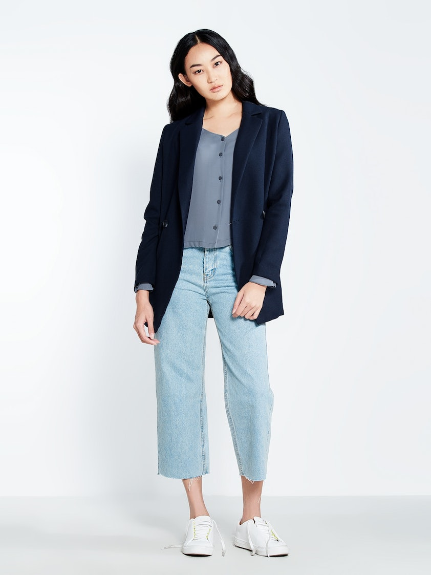 907d124445 Marciano Buttoned Oversized Jacket - Pomelo Fashion