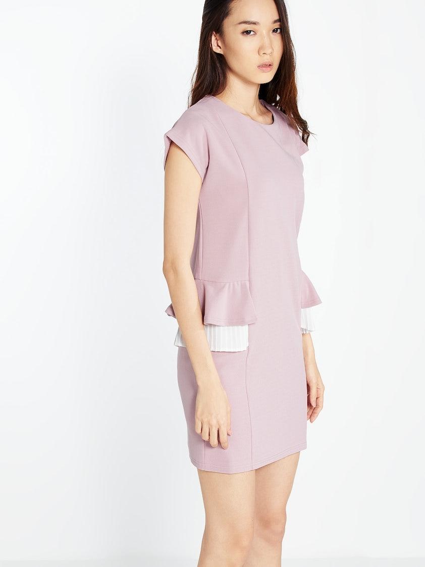 bd254e0298 Yara Mini Dress - Pink - Pomelo Fashion