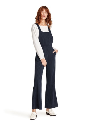 63bdd5af966 Riku Flared Overalls - Navy - Pomelo Fashion