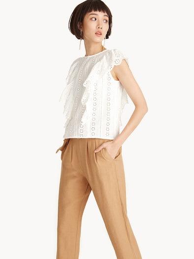 6392e9394a3422 Crop Tops - Pomelo Fashion