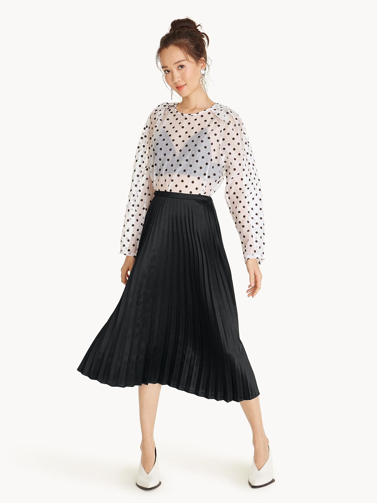 Women Pomelo Fashion Kemeja Pria Short Shirt Sy860