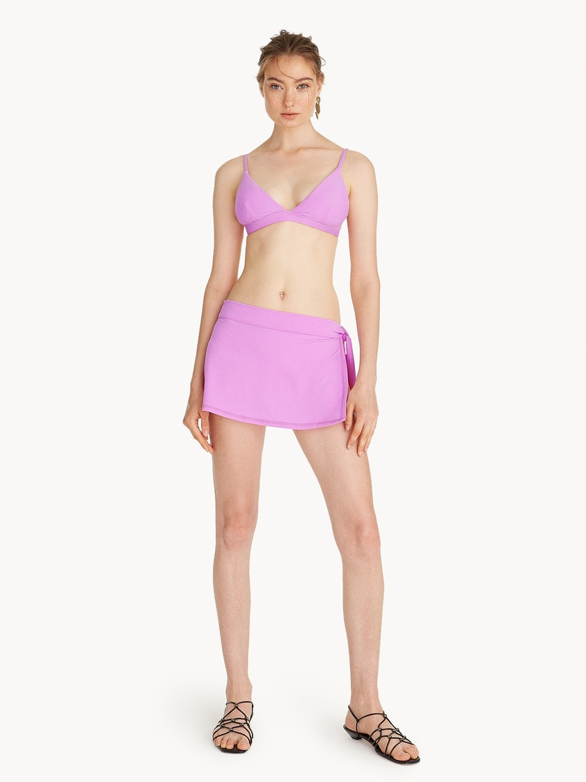 8b4db5c143 Swim Cover Up Skirt - Lilac - Pomelo Fashion