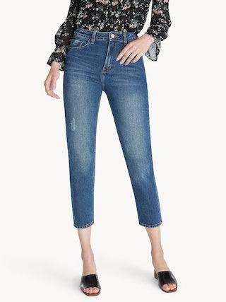 af6f0ecfae9 Cropped Medium Wash Skinny Jeans. Cropped Medium Wash Skinny Jeans. Hover  to Zoom